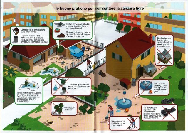 Opuscolo informativo prevenzione zanzare