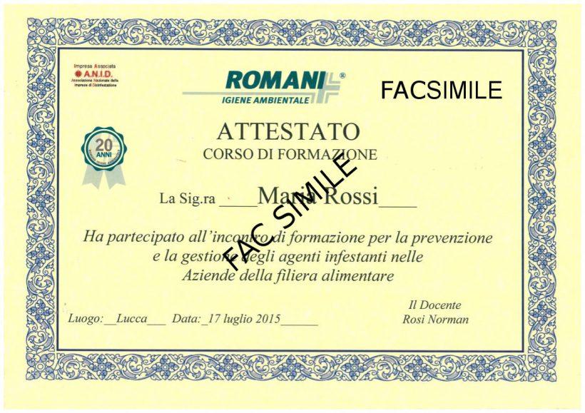 Attestato_Romani_Disinfestazioni