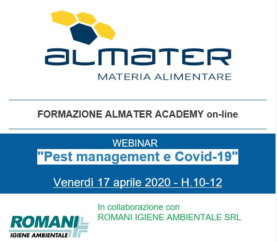 Pest Management e Covid 19